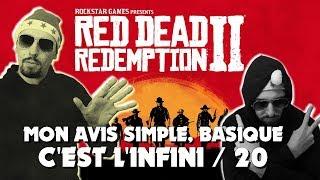 Vidéo-Test : RED DEAD REDEMPTION 2 MON AVIS : C'EST L'INFINI /20 ! TEST FR