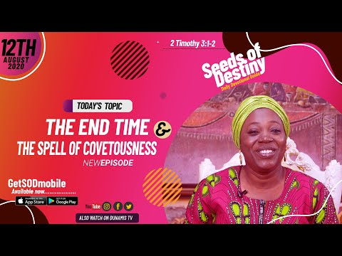 Dr Becky Paul-Enenche - SEEDS OF DESTINY - WEDNESDAY AUGUST 12, 2020