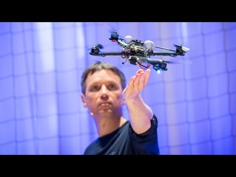 The astounding athletic power of quadcopters | Raffaello D'Andrea - UCAuUUnT6oDeKwE6v1NGQxug
