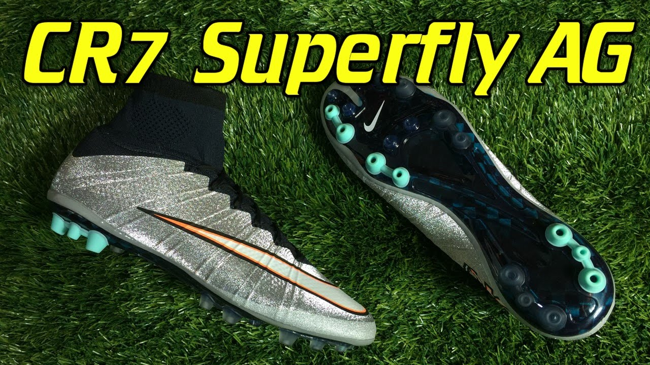 new style 63b3d 159ea AG Nike Mercurial Superfly 4 CR7 Silverware - Review + On ...
