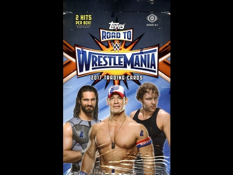 Box Busters: 2017 Topps WWE Road to WrestleMania
