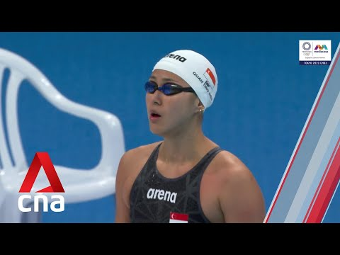 Singapore's Quah Ting Wen finishes last in her 50m freestyle heat at Tokyo Olympics