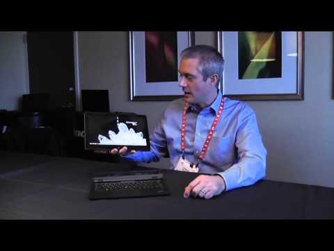 Lenovo ThinkPad Helix Hands-On Demo at CES 2013 - UCCHGYoGcV0nApI4Pi4gGheQ