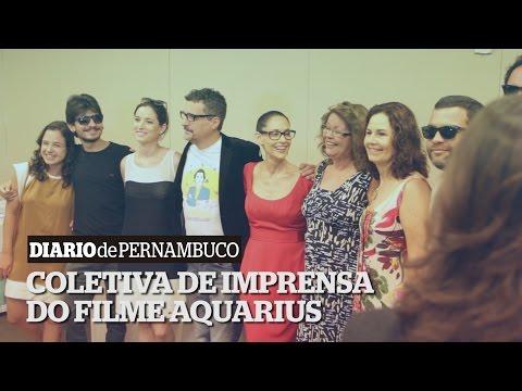 Coletiva de Imprensa do filme Aquarius no Recife