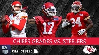 Chiefs Grades For Mecole Hardman, Chad Henne, Carlos Hyde, Alex Okafor vs. Steelers Preseason Week 2