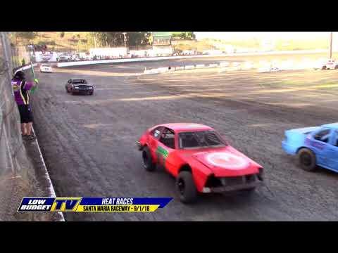 HEAT RACES: The Simkins Memorial Night 1 at Santa Maria 9/1/18