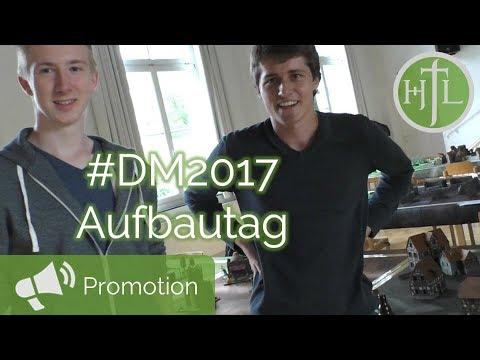 DM2017 VLOG Tag #1 - Viel Stress beim Aufbauen...