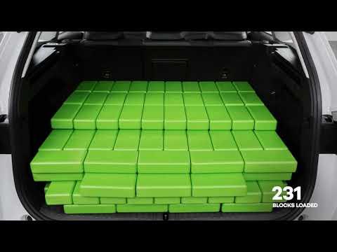 ŠKODA ENYAQ iVs bagagerum - Måling af bagagerumskapacitet