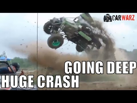 Cory Rummell HUGE Crash In GOING DEEP At MMJ 2018 - Cell Video No Audio