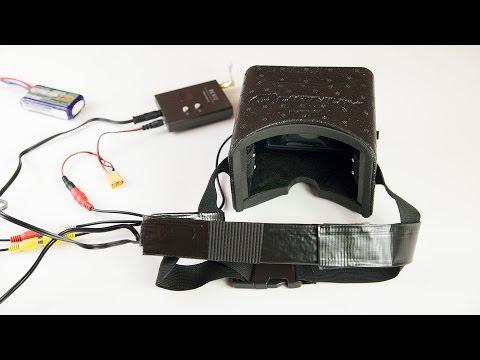 TIPS & TRICKS - HobbyKing Quanum Complete FPV goggles / FPV set - UCNw7XWzFGn8SWSQvS7Q5yAg