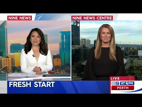 Tammy on 9 News Perth