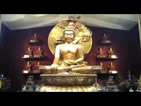 Tibetan language video about Wisdom Hall, Kechara Forest Retreat