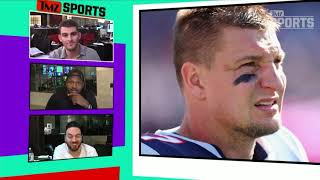 Rob Gronkowski: Hell Yeah I Worked Out With Tom Brady! | TMZ Sports