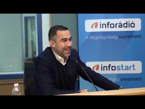 InfoRádió - Aréna - Gyulai Márton - 1. rész - 2019.11.12.