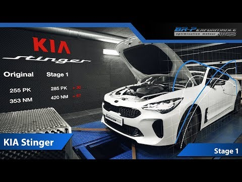 KIA Stinger 2.0 T-GDI Stage 1 By BR-Performance