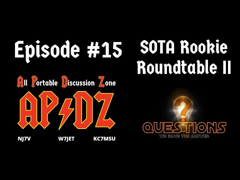 Episode #15 - Q&A for the SOTA Rookie PART II