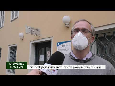 Epidemiologická situace znovu omezila provoz městského úřadu
