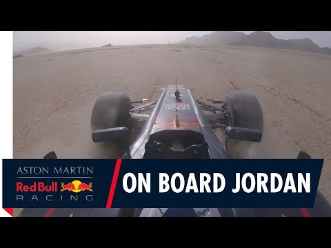 On Board with David Coulthard for some off-road F1 action in Jordan