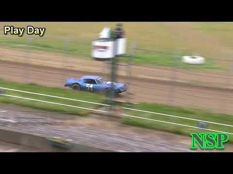 May 30, 2020 Super Stocks Play Day Grays Harbor Raceway - dirt track racing video image