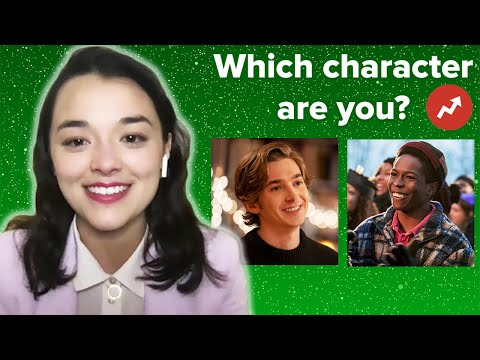 """The Cast Of """"Dash & Lily"""" Find Out Which Characters They Really Are"""