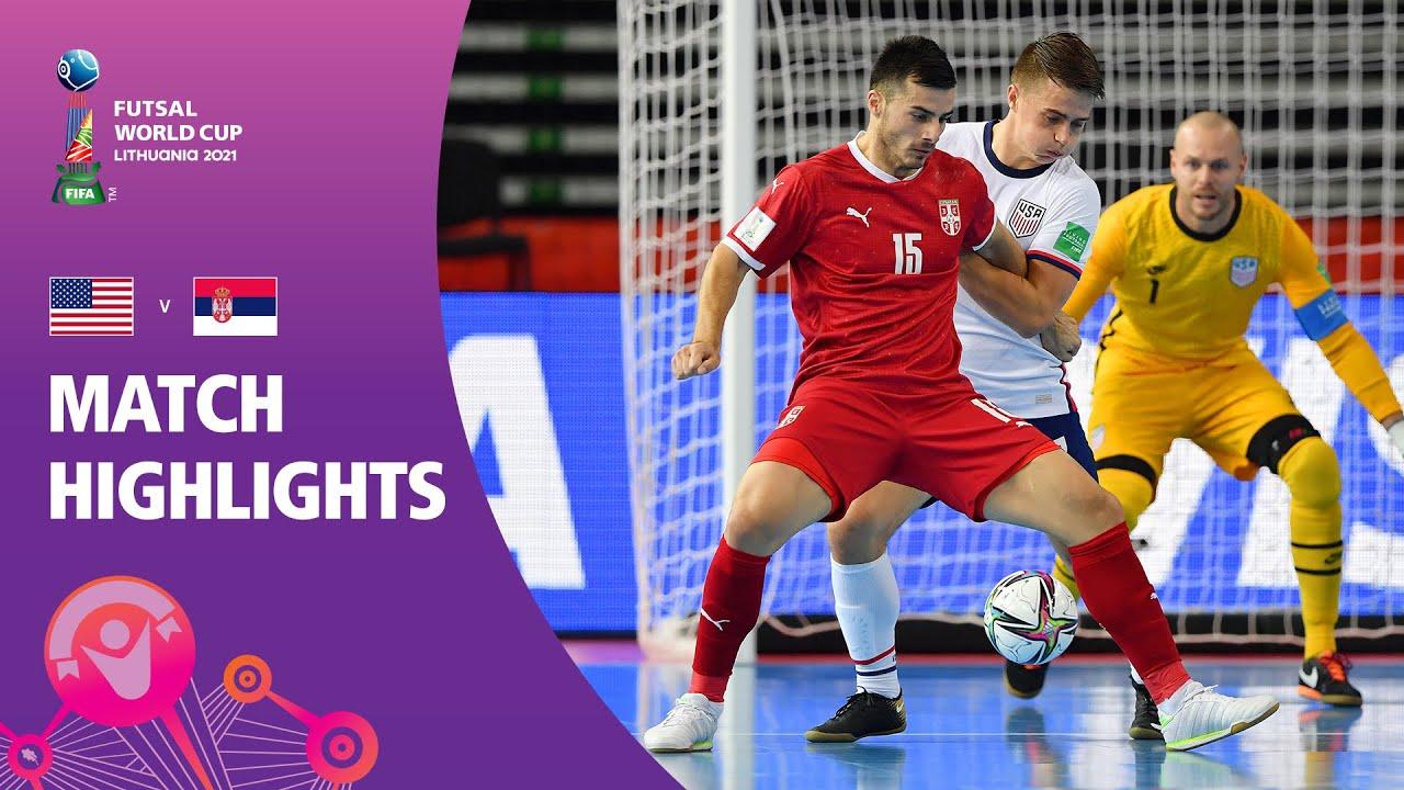 USA v Serbia   FIFA Futsal World Cup 2021   Match Highlights