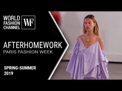 Afterhomework spring-summer 2019 | Paris fashion week