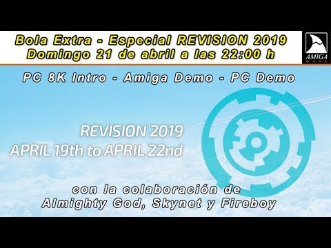 Especial REVISION 2019 - PC 8K Intro, Amiga Demo y PC Demo.