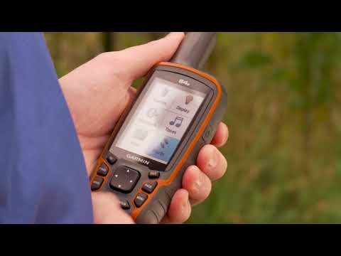 Support: Saving And Recording Tracks on a Garmin GPSMAP® 62, 64 or 78