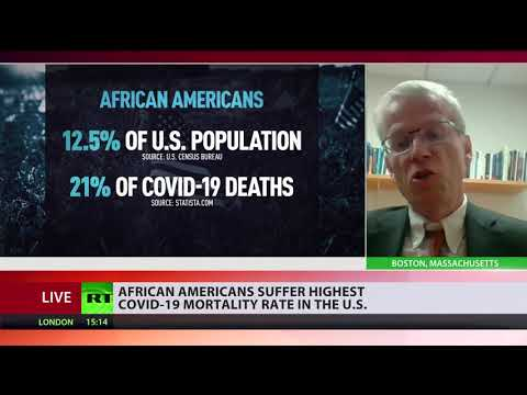 Hispanics & African Americans suffer highest COVID mortality rate in the US