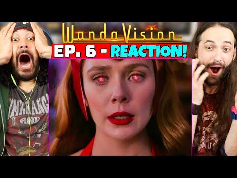 "WANDAVISION 1x6 REACTION!! (Episode 6   Spoiler Review   Theories) ""All New Halloween Spooktacular!"