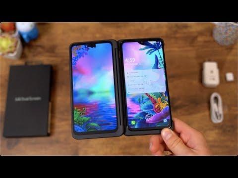 LG G8X ThinQ Unboxing: Dual Screens! - UCbR6jJpva9VIIAHTse4C3hw