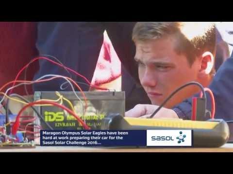 Sasol Solar Challenge 2016| Maragon Olympus Solar Eagles