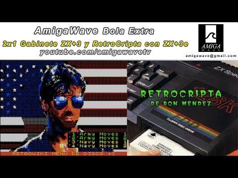 Bola Extra - 2x1 Gabinete de ZX Spectrum +3 y Retrocripta con ZX+3e