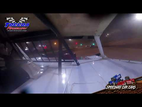 #6 Mark Wilbanks - Limited Late Model - 10-23-21 Toccoa Raceway - In-Car Camera - dirt track racing video image