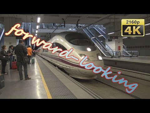 With High Speed Train AVE from Girona to Madrid ATOCHA - Spain 4K Travel Channel - UCqv3b5EIRz-ZqBzUeEH7BKQ