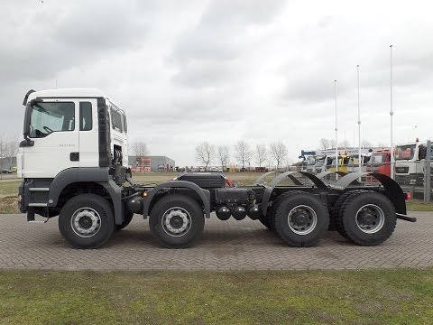 ma3898 - MAN TGS 41.400 BB-WW 8x4 chassis cabin - NEW
