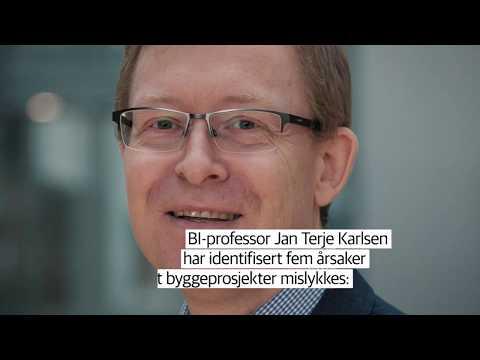Fem årsaker til byggesprekk    Jan Terje Karlsen