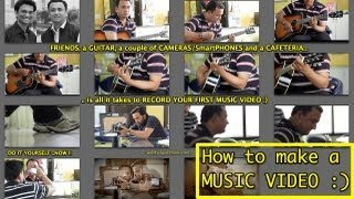 How to make a MUSIC VIDEO ? - adityapathak ,