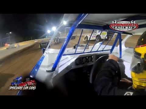#36 Mark Daye - Cash Money Late model - 9-18-2021 Springfield Raceway - In Car Camera - dirt track racing video image