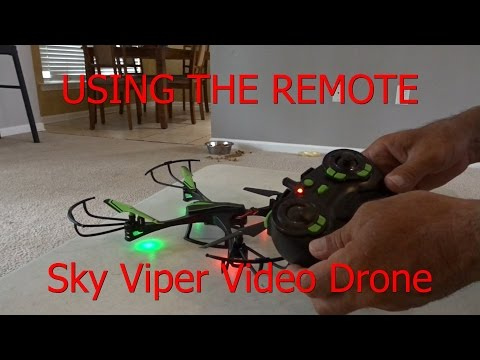 How To Fly / Hover a Drone - Quadcopter - Helicopter Sky Viper v950 STR - UCQTLCH2jordGxj4DOJwn5IQ