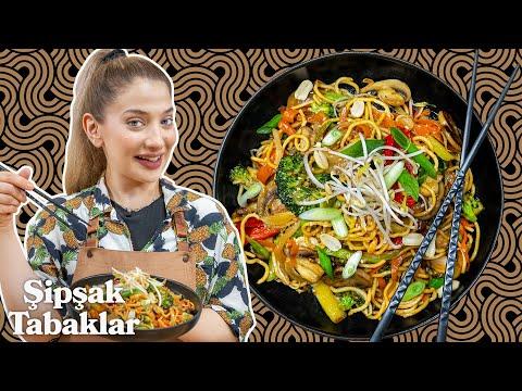 Noodle Nasıl Yapılır? Tüm İncelikli Püf Noktalarıyla Sebzeli Noodle Tarifi | Şipşak Tabaklar B6