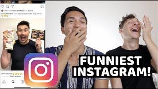 Luis Manzano Instagram Raid | FUNNIEST INSTAGRAM!!! HAHAH *KALOKA*