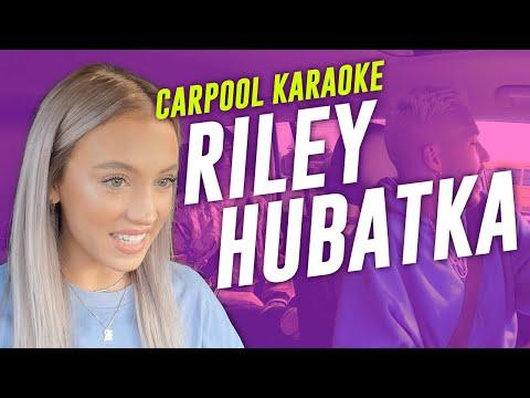 Carpool Karaoke With Riley Hubatka  Elevation YTH