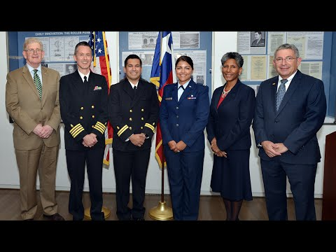 Military Commissioning Ceremony 2016 at Baylor College of Medicine