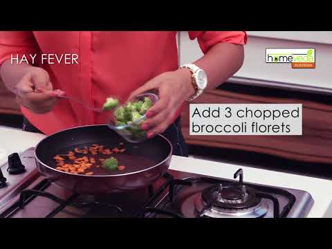 Best Food to Cure Hay Fever| Easy Recipe - Homeveda Remedies