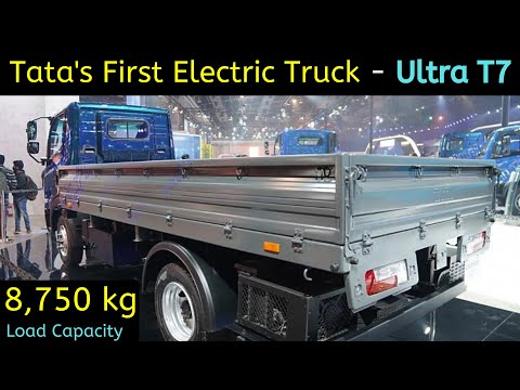 Tata's First Electric Truck Ultra T7 Unveil - Auto Expo 2020