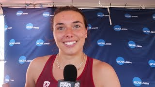 Stanford senior Mackenzie Little on defending her NCAA javelin title: 'It's a fairytale ending'