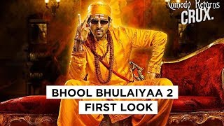 Kartik Aryan Shares First Look Of Bhool Bhulaiyaa 2