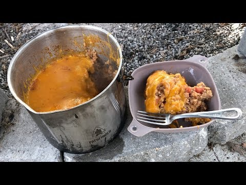 Campfire Cooking Made Easy - Spanish Rice Casserole