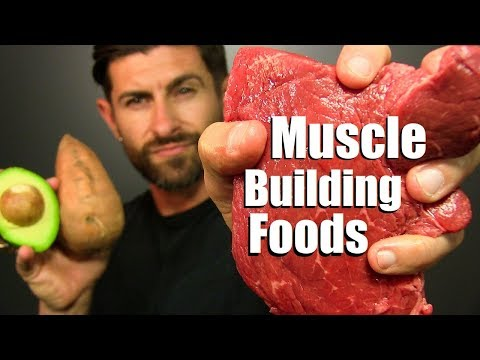 10 BEST Foods To Add MUSCLE Mass FAST! - UC1KbedtKa3d5dleFR6OjQMg